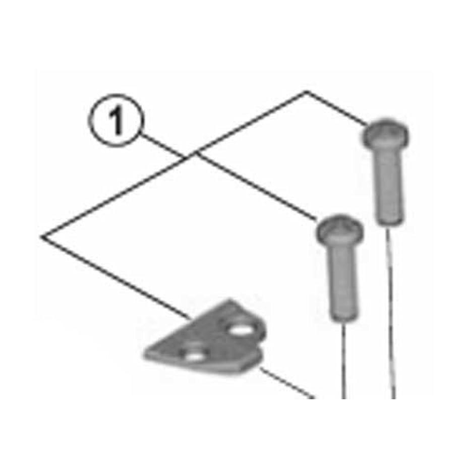 病弱ネックレット側溝シマノ FD4600 アジャストボルト(M4×13) & プレート Y5MR98010