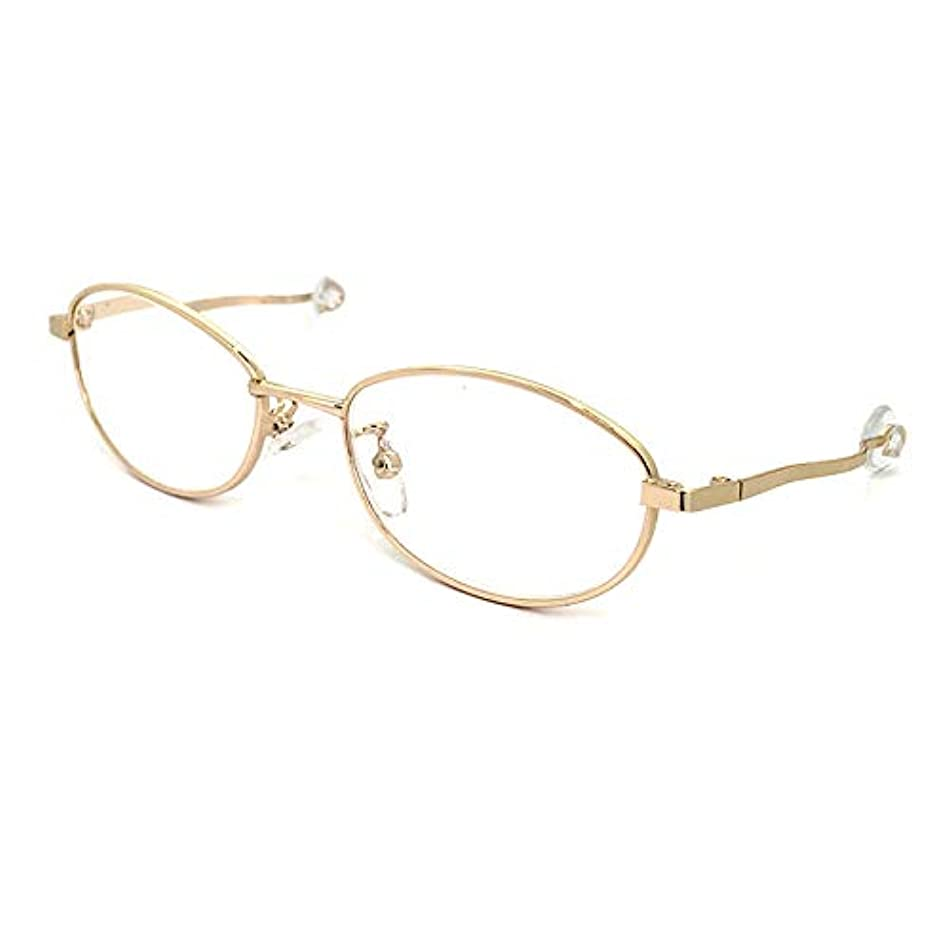 寝ガネ ネガネ レディース 老眼鏡 リーディンググラス +2.50 寝ながら 使える 5800-25