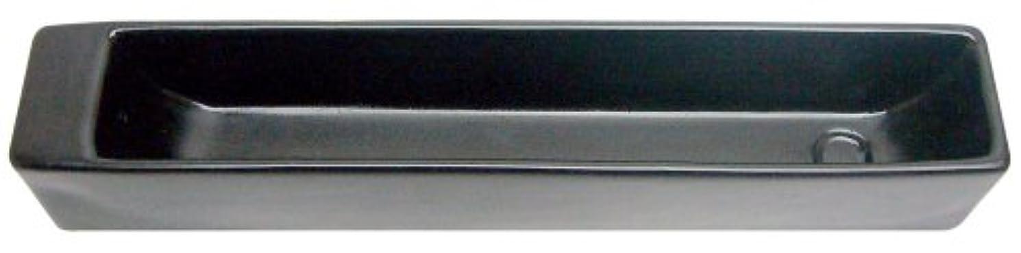 最大のサドル型ノルコーポレーション お香立て ラスター インセンスホルダー ブラック OS-LUH-1-3