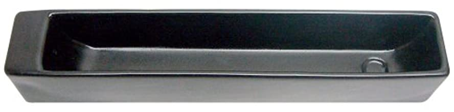 クアッガポール中傷ノルコーポレーション お香立て ラスター インセンスホルダー ブラック OS-LUH-1-3