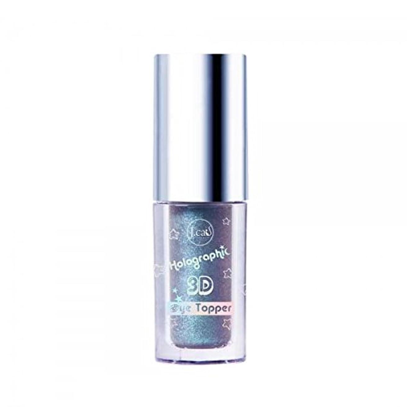 フェミニン不利益運命的な(3 Pack) J. CAT BEAUTY Holographic 3d Eye Topper - Azul Lemonade (並行輸入品)