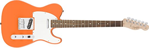 Squier by Fender エレキギター Affinity Series™ Telecaster®, Laurel Fingerboard, Competition Orange
