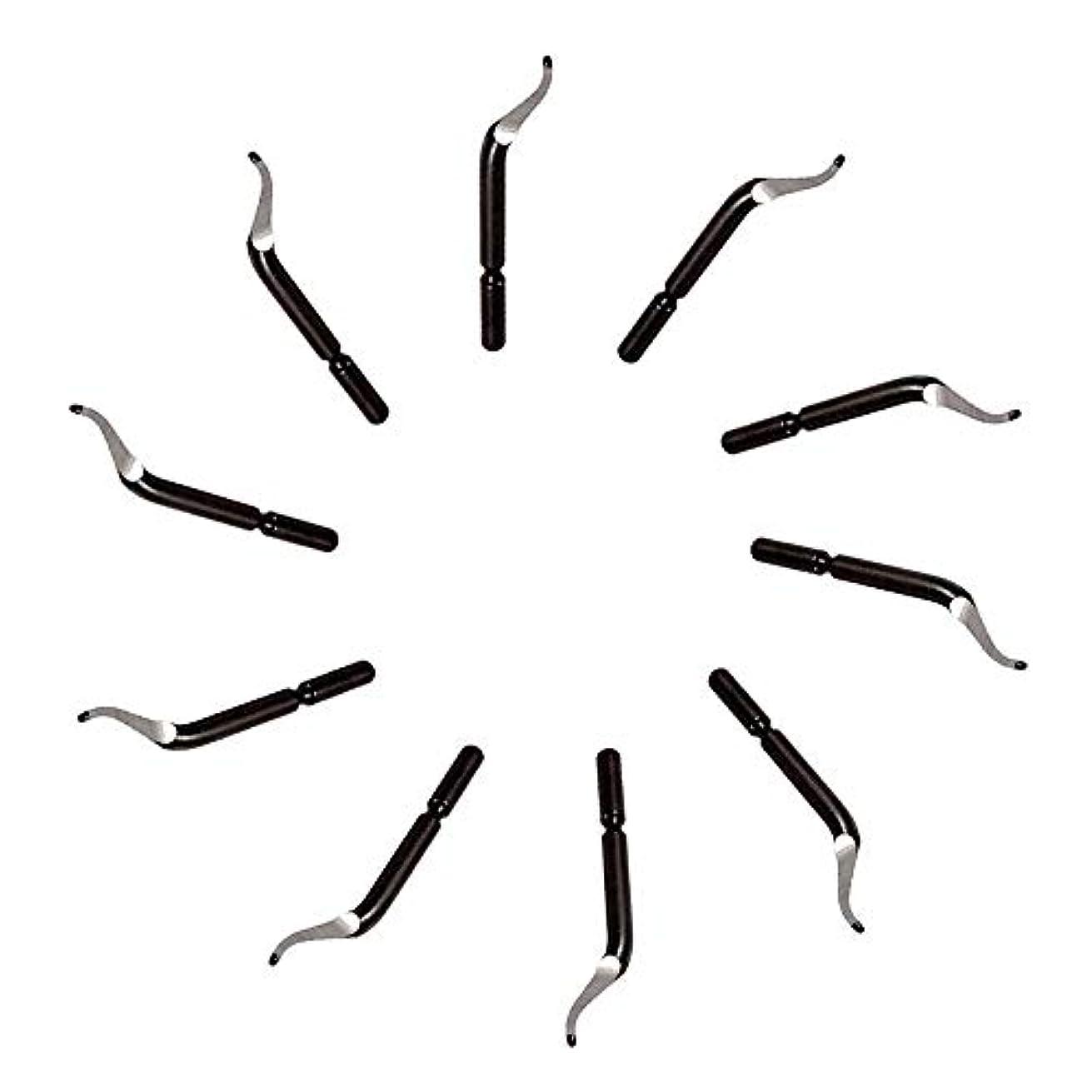 虫を数えるチキンに話す1st market プレミアム品質バリ取りブレード - 交換用バリ取り工具BK3010 S150バリ取りブレード10個