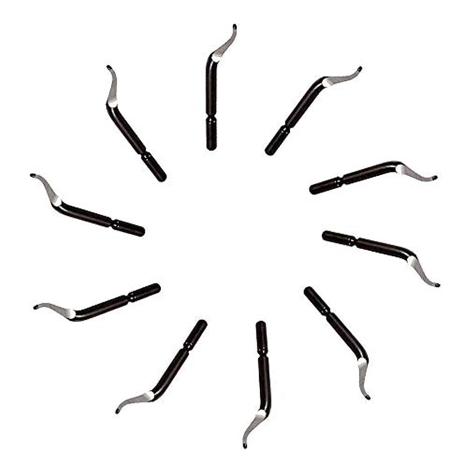 くぼみロッド銀行1st market プレミアム品質バリ取りブレード - 交換用バリ取り工具BK3010 S150バリ取りブレード10個