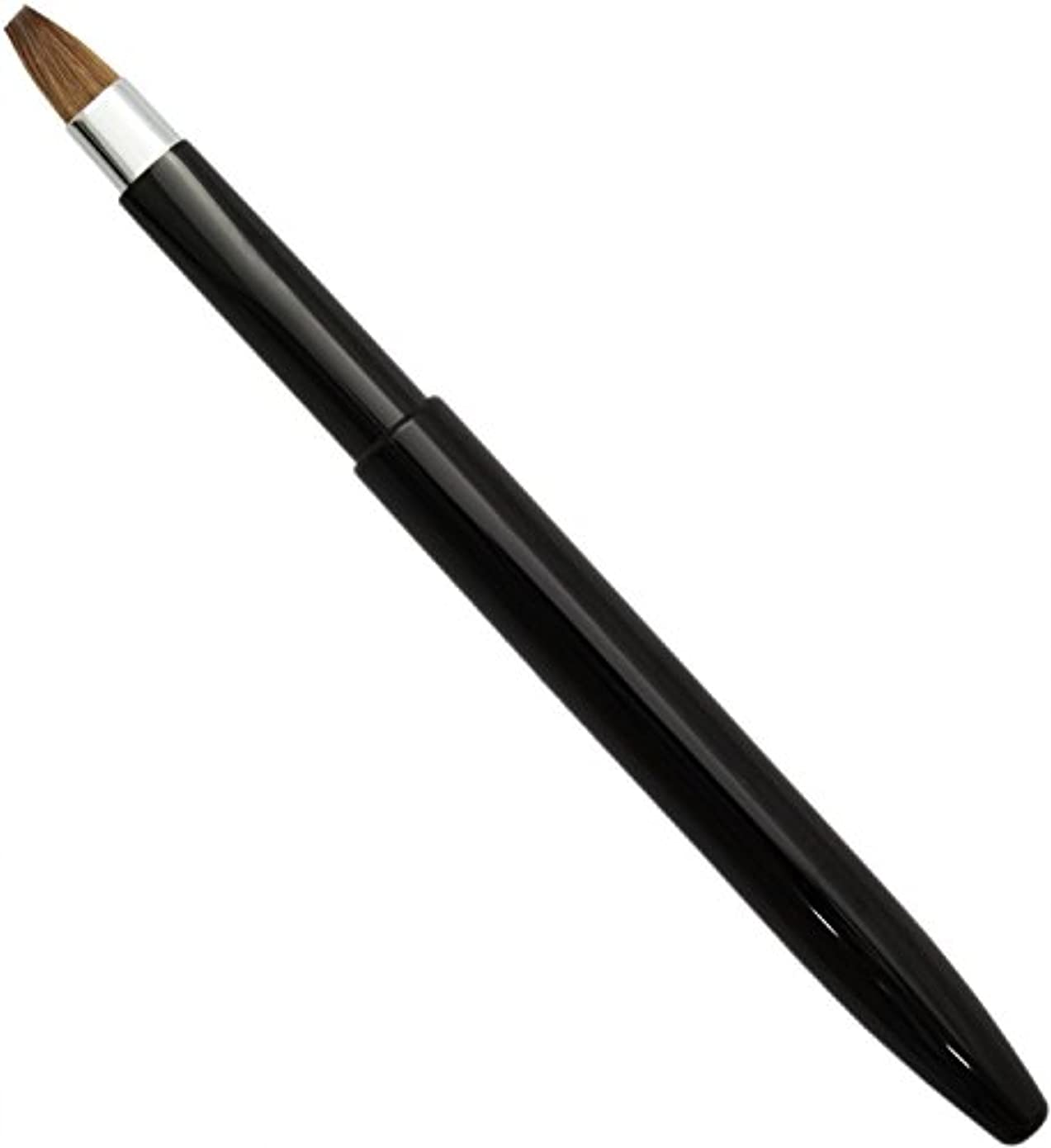 領事館おもちゃセント熊野筆 メイクブラシ KUシリーズ リップブラシ オート イタチ毛