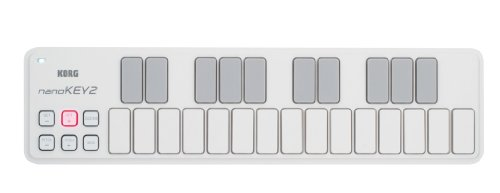 KORG USB MIDIキーボード NANOKEY2 ナノキー 25鍵 ホワイト