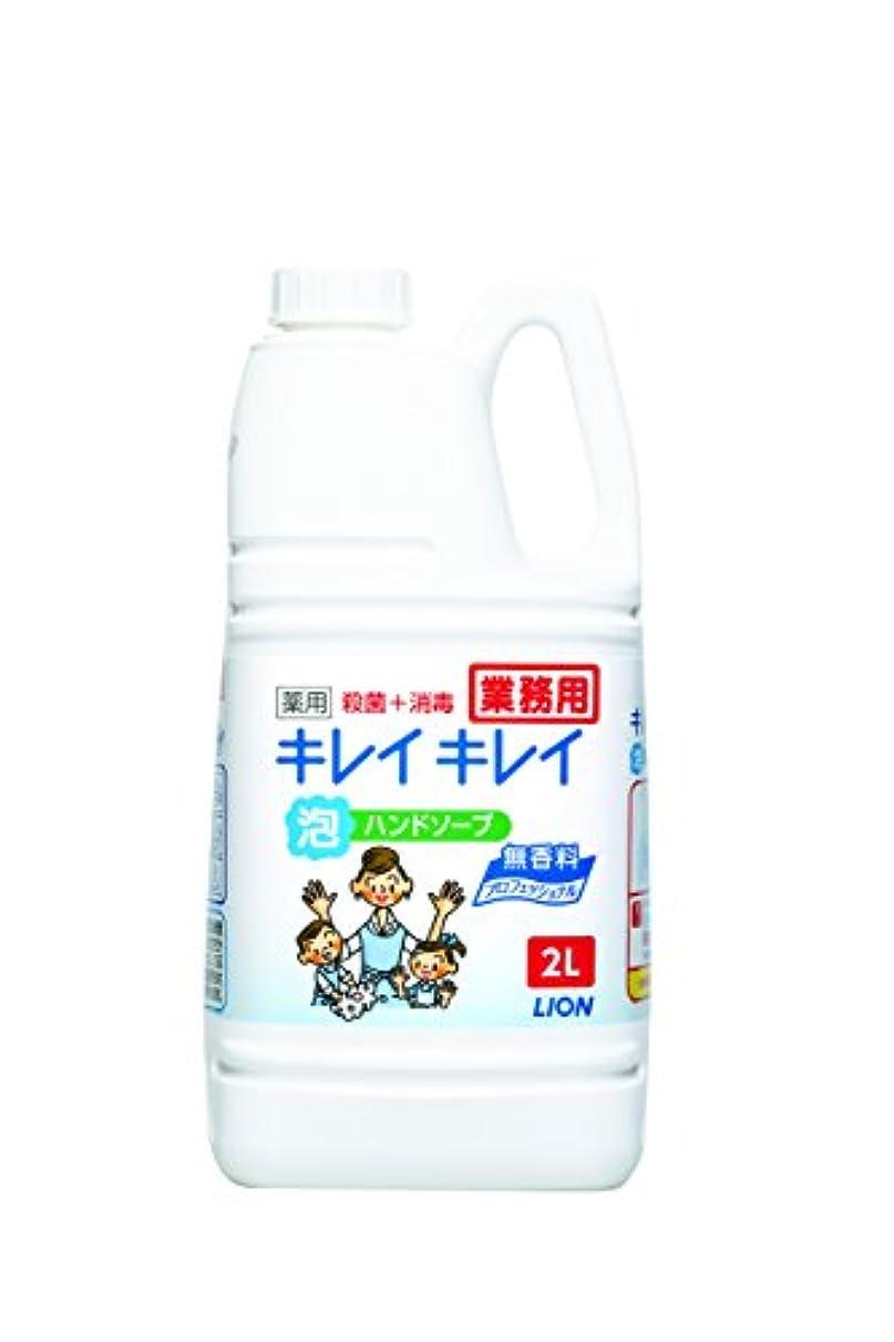 原始的な遺伝子でも【大容量】キレイキレイ 薬用泡ハンドソープ プロ無香料2L