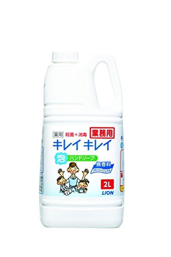 ゴミ箱背が高いムス【大容量】キレイキレイ 薬用泡ハンドソープ プロ無香料2L