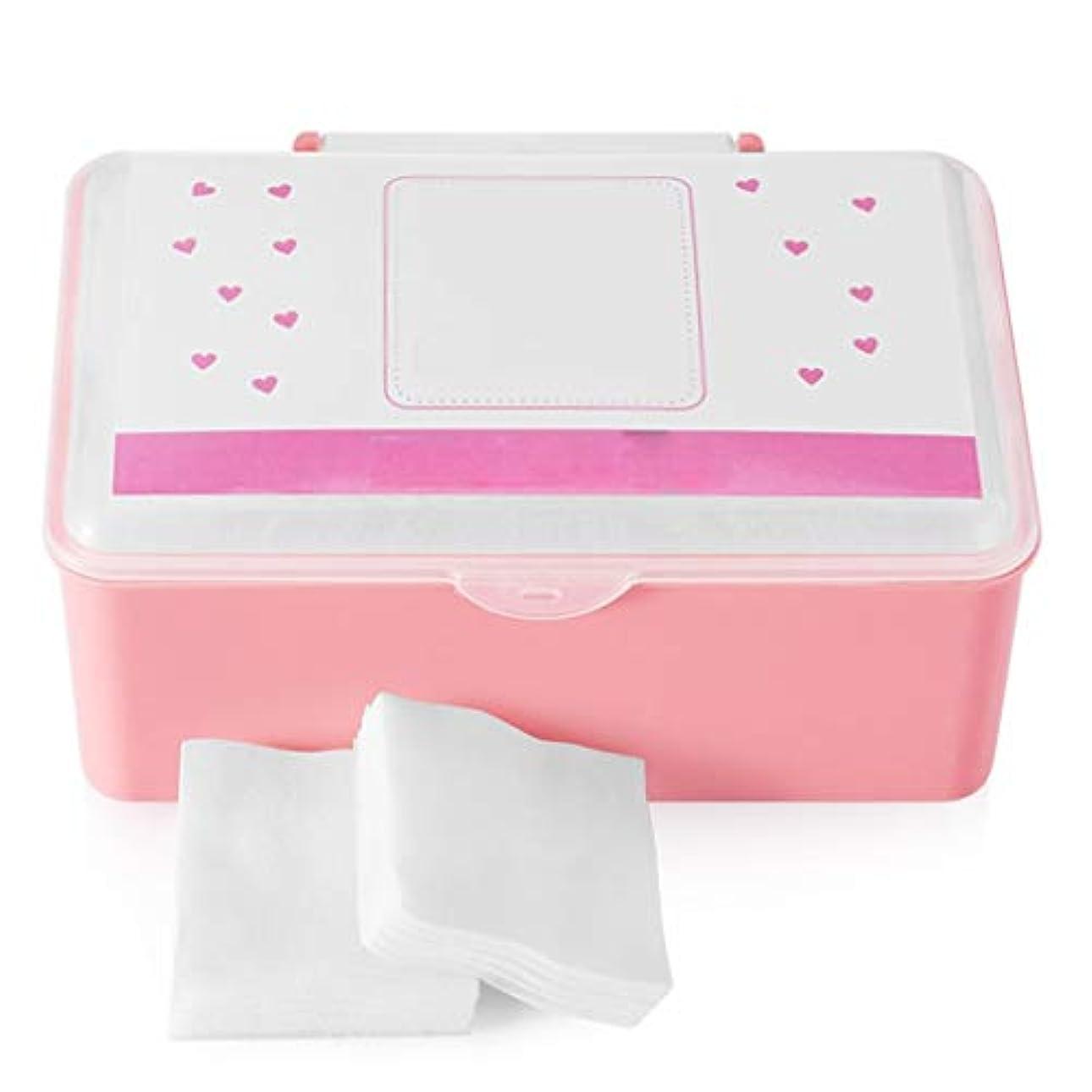 クレンジングシート コットンパッドコットンクレンジングコットンフェイス付き薄いセクション水分補給ウェット圧縮スペシャルボックス入り1000ピース (Color : White)