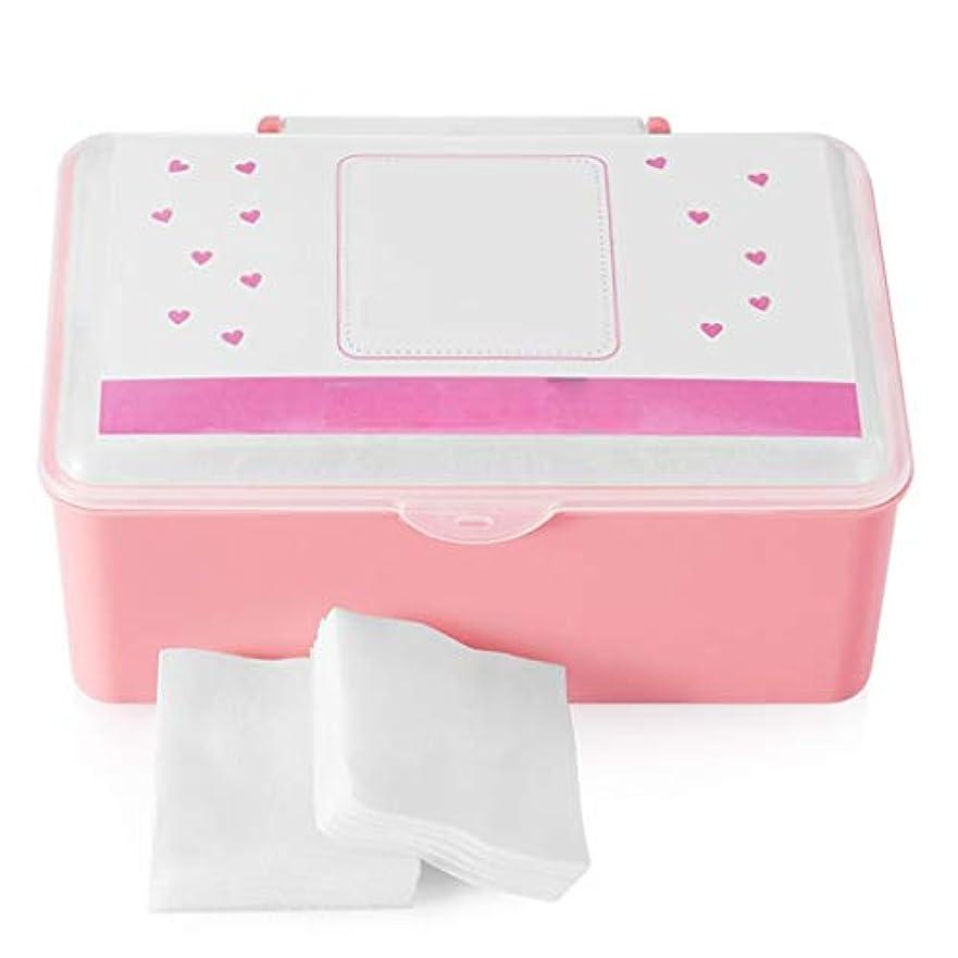 ディスコ抽出ラベンダークレンジングシート コットンパッドコットンクレンジングコットンフェイス付き薄いセクション水分補給ウェット圧縮スペシャルボックス入り1000ピース (Color : White)