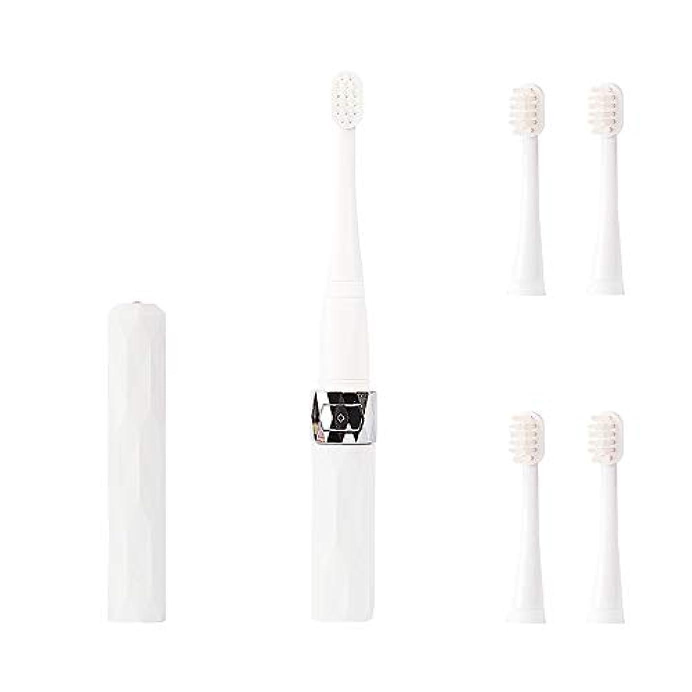 本当のことを言うと降伏ベックスコリミダ(COLIMIDA) 電動歯ブラシ 子供歯ブラシ 音波振動 スマートソニック 携帯に便利な 防水式 替えブラシ4本 歯ブラシシステマ 極細毛 タイプ ルージュ ホワイト