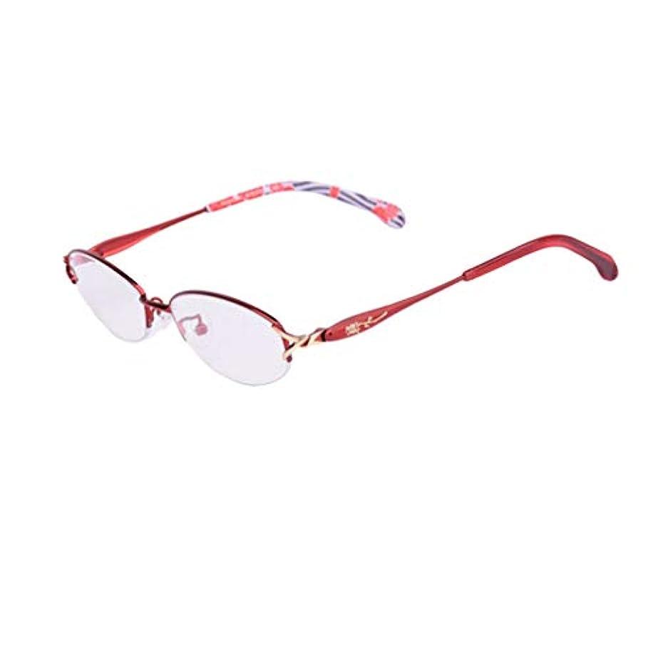 これら位置する倫理老眼鏡、スタイリッシュなパターンフレームリーダー品質ファッションメガネ女性用(+ 2.00 / + 2.25 / + 2.50)ウルトラクリアビジョン、抗疲労、抗UV、赤/黒