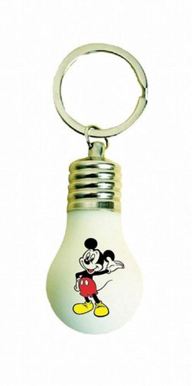 ディズニー 電球型キーリング ミッキー
