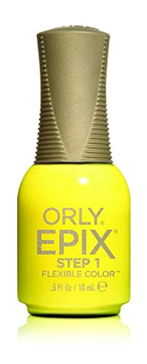同盟不幸分解するOrly Epix Flexible Color Lacquer - Road Trippin - 0.6oz / 18ml