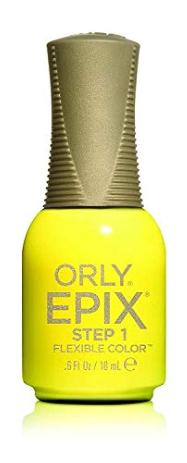 火山仮装すすり泣きOrly Epix Flexible Color Lacquer - Road Trippin - 0.6oz / 18ml