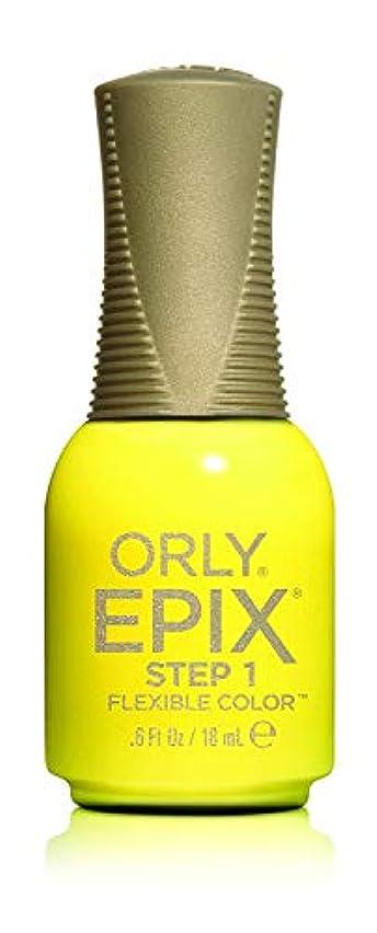 慢プレフィックス困惑したOrly Epix Flexible Color Lacquer - Road Trippin - 0.6oz / 18ml