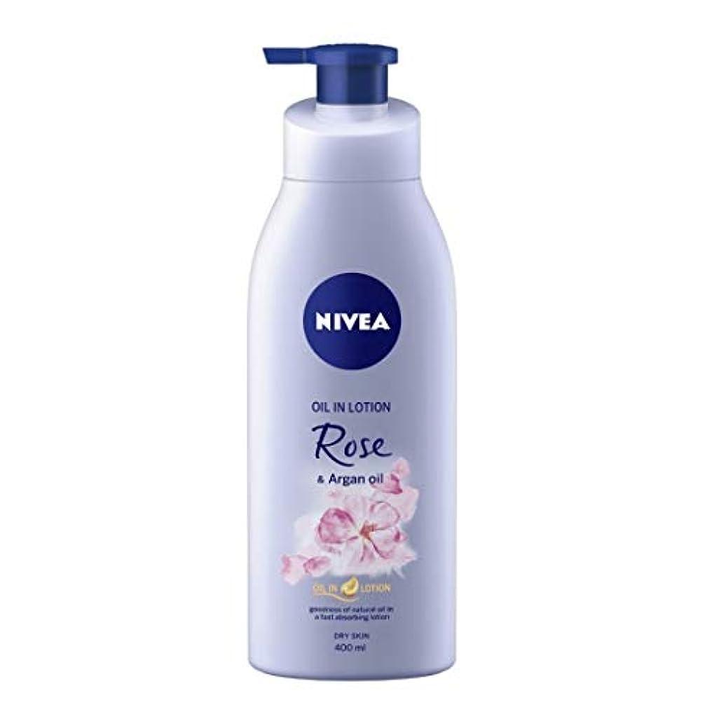 売るパテ重々しいNIVEA Oil in Lotion, Rose and Argan Oil, 400ml