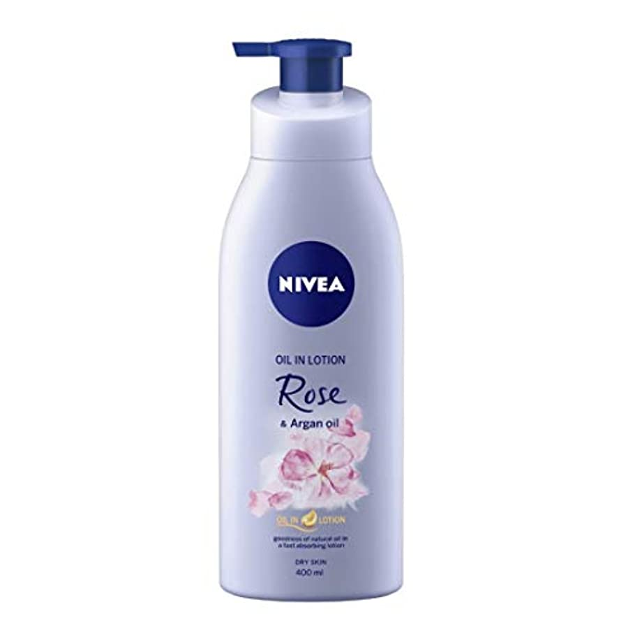 気絶させる非互換マオリNIVEA Oil in Lotion, Rose and Argan Oil, 400ml