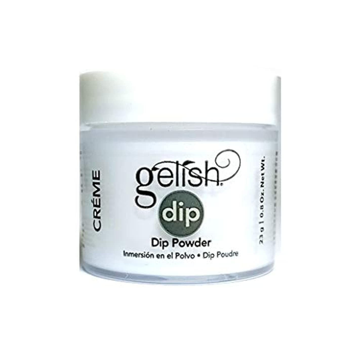 ソート患者アンティークHarmony Gelish - Dip Powder - Sheek White - 23g / 0.8oz