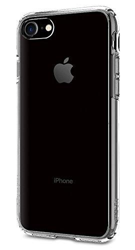 【Spigen】 iPhone7ケース, ウルトラ・ハイブリッド [ 米軍MIL規格取得 落下 衝撃 吸収 ] アイフォン 7 用 カバー (iPhone7, クリスタル・クリア)
