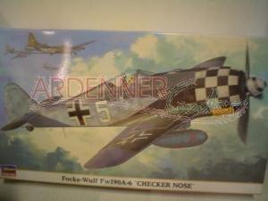 1/48 フォッケウルフ Fw190A-6 チェッカーノーズ