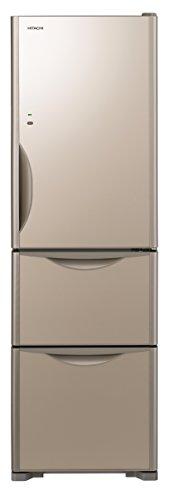日立 冷蔵庫 315L 3ドア クリスタルシャンパン R-S...
