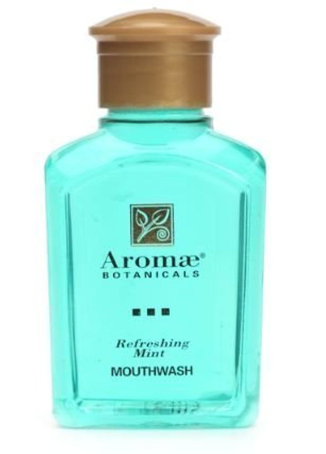 褒賞知らせる貯水池Aromae Fresh Mint Mouthwash, 1.0 Fluid Ounce Bottles, 160 Bottles per Case by Aromae