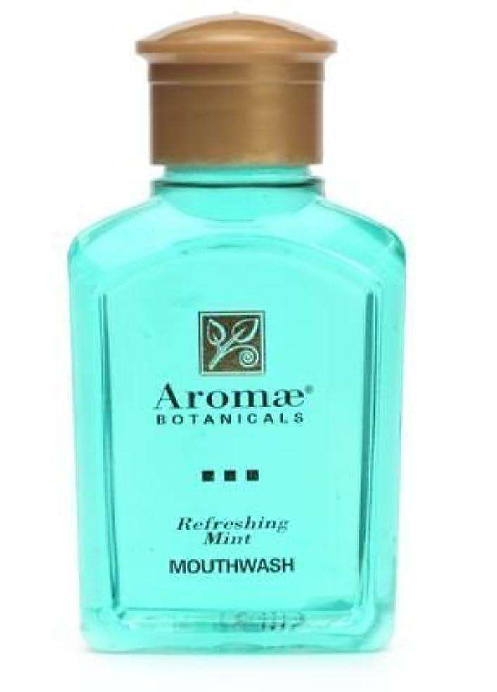 装備する常習的レクリエーションAromae Fresh Mint Mouthwash, 1.0 Fluid Ounce Bottles, 160 Bottles per Case by Aromae