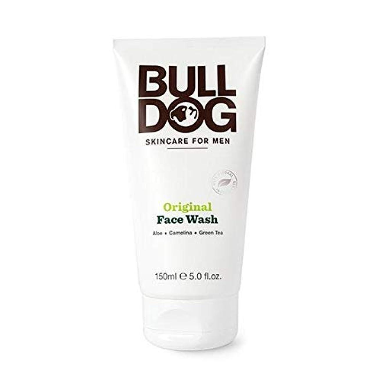 流暢重大誇張[Bulldog] ブルドッグのオリジナル洗顔の150ミリリットル - Bulldog Original Face Wash 150ml [並行輸入品]