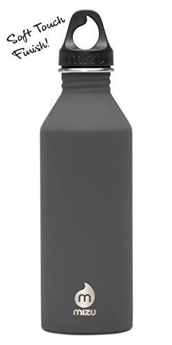 mizu(ミズ) 常温水筒 M8 [800ml] シングルウォール ステンレスウォーターボトル Soft Touch Gray [ソフトタッチ グレー] 800ml MIZUM8SGRY Soft Touch Gray [ソフトタッチ グレイ]