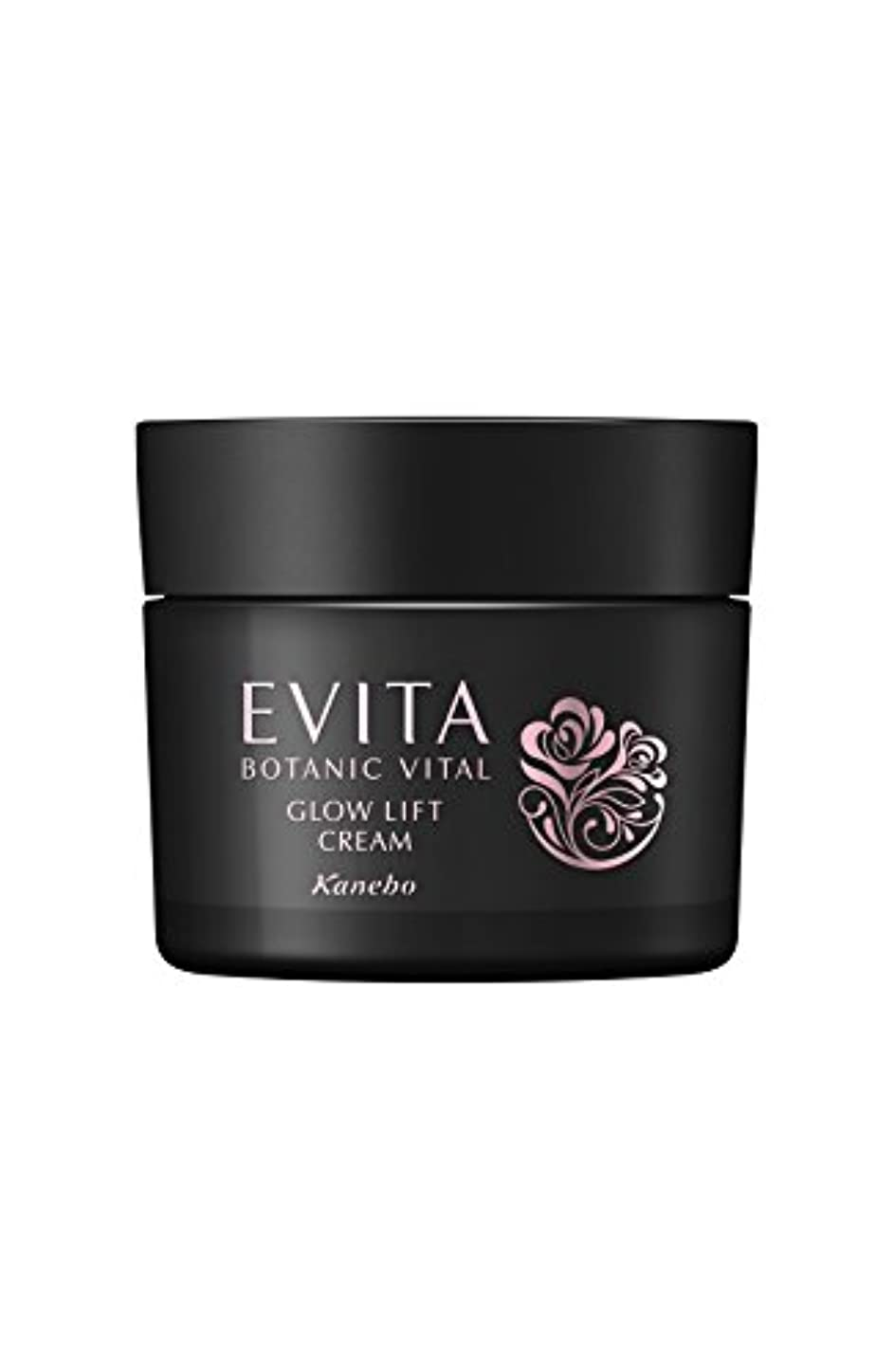 フロー乳製品浴室エビータ ボタニバイタル 艶リフト クリーム エレガントローズの香り 保湿クリーム