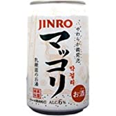 JINRO CANマッコリ 缶 /ジンロ 350ML × 24本