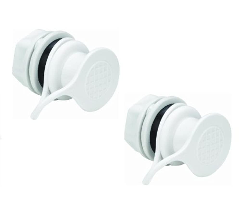甘くするトロリー隠されたIgloo Cooler Replacement Standard Triple Snap Drain Plug (2pk) by Igloo