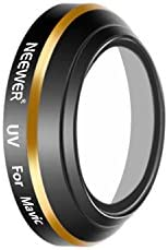 Neewer Ultraviolet UV Lens Filter for DJI Mavic Drone Quadcopter, Multi Coated Waterproof Optical Glass and Al