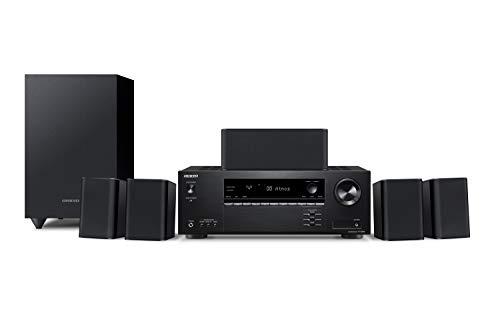 ONKYO (オンキョー) 5.1chシアターシステム/Dolby Atmos対応/DTS:X対応/4K対応/ブラック HT-S3910(B) B07QCB36BF 1枚目