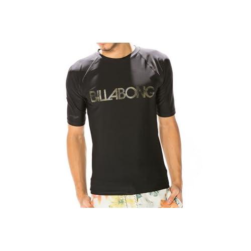 ビラボン (billabong) メンズ ラッシュ ラッシュガード 日焼け対策 UVカット 半袖 UPF ショートスリーブ af011852 af011-852 RASH GUARD