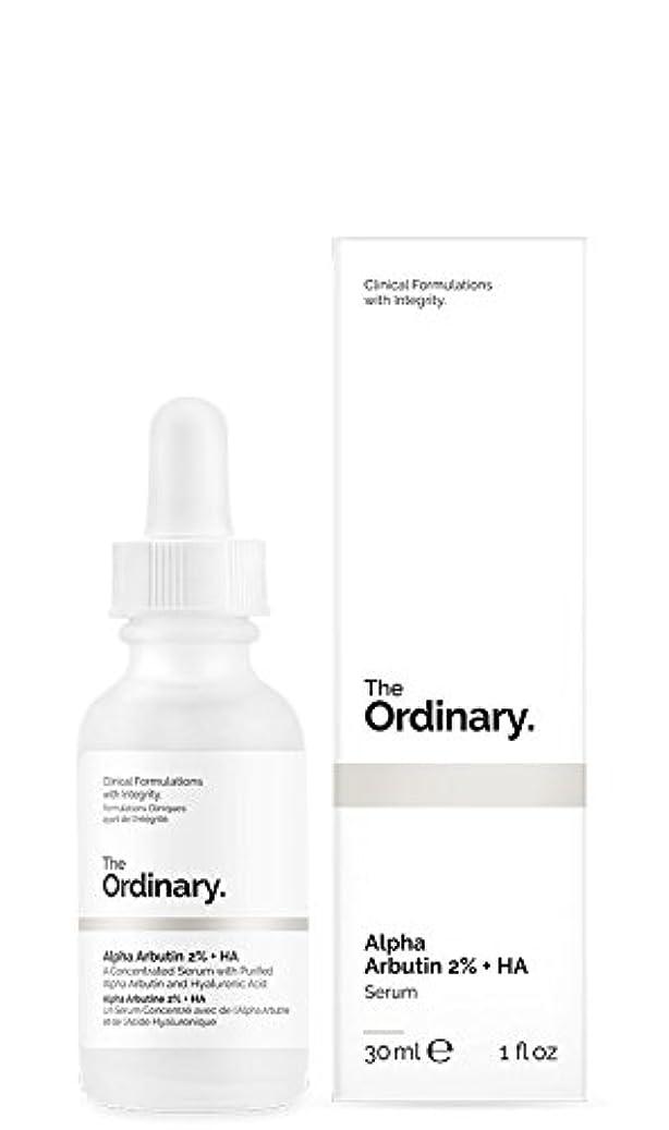 禁止する電気陽性悪夢The Ordinary   Alpha Arbutin 2% + HA - 30ml