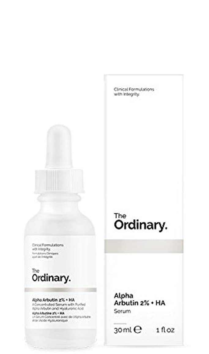 部門若い忌み嫌うThe Ordinary | Alpha Arbutin 2% + HA - 30ml