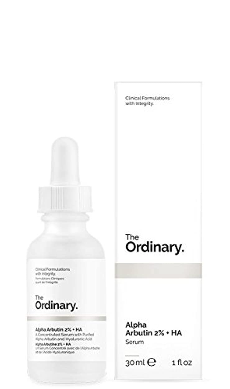 不公平小石最初はThe Ordinary | Alpha Arbutin 2% + HA - 30ml