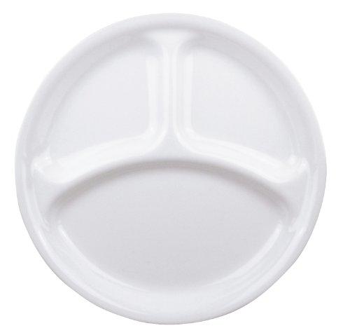 コレール プレート 皿 外径26cm 割れにくい 軽量 ウインターフロストホワイト ランチ皿(大) J310-N CP-8914