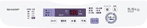 シャープ 全自動洗濯機 5.5kg バイオレット ES-GE5A-V
