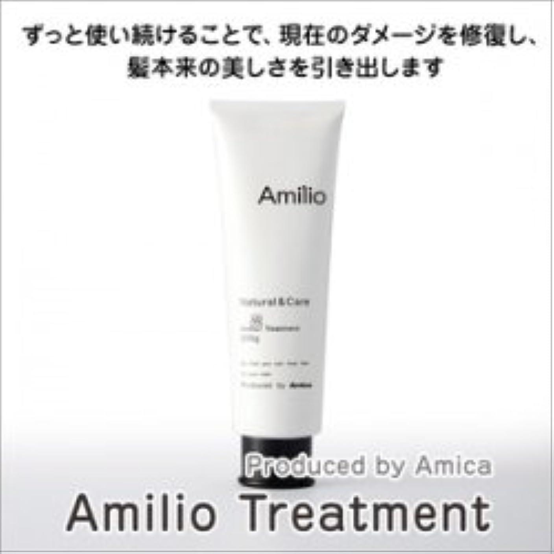 報いるシロクマおなかがすいた【Amilio / アミリオール】 美容師がこだわってつくったトリートメント 200ml