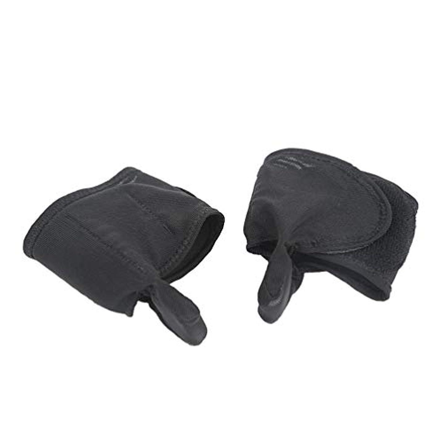 手書き偽善者チャンバーSUPVOX 1ペア腱膜瘤補正腱膜瘤プロテクタースリーブ足の親指矯正カバー