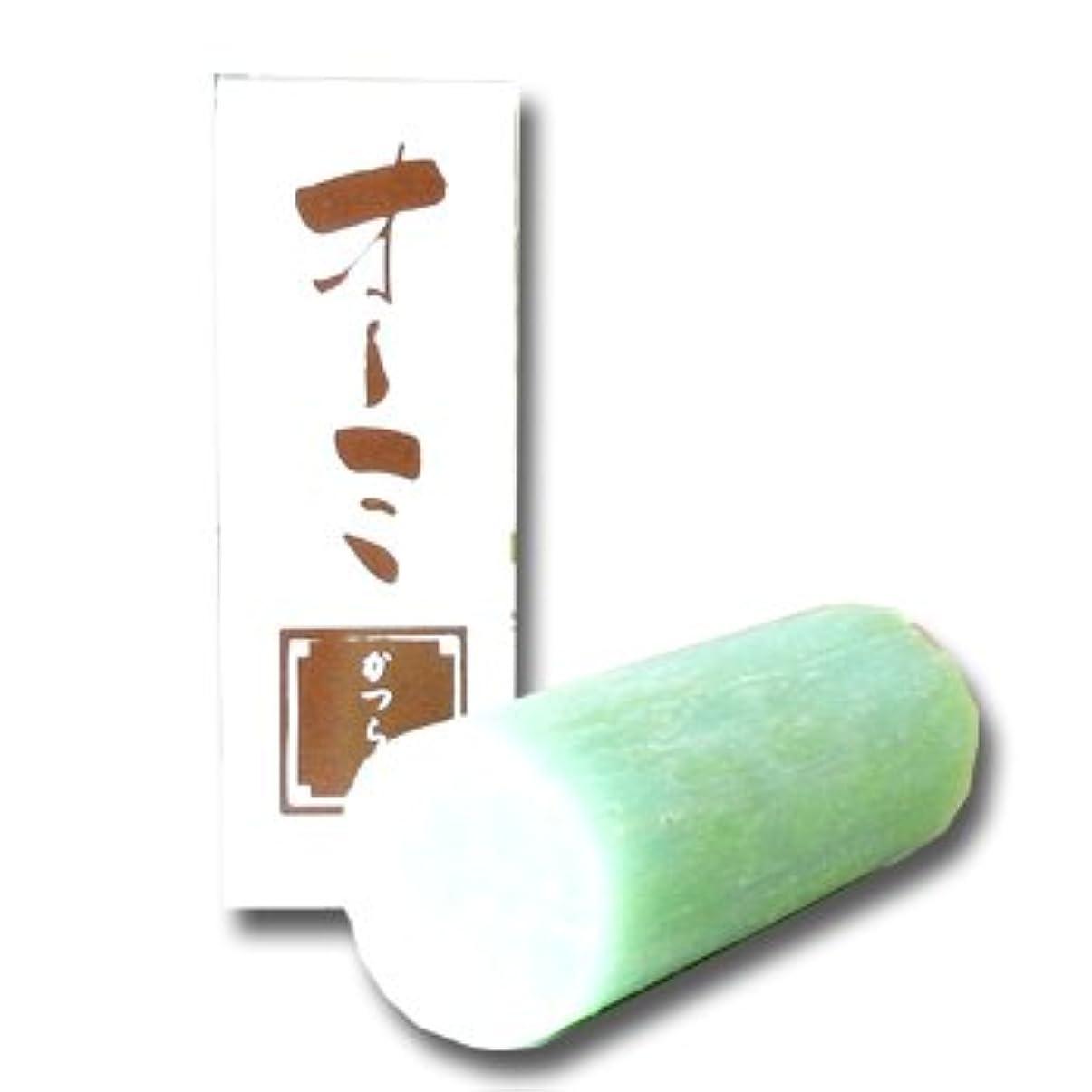 練習した自宅で呼吸島田商店 花丁字 オーミ 鬢付け油 スティック かつら用 無香料【固練り】