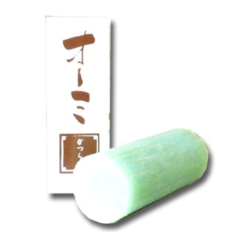 島田商店 花丁字 オーミ 鬢付け油 スティック かつら用 無香料【固練り】
