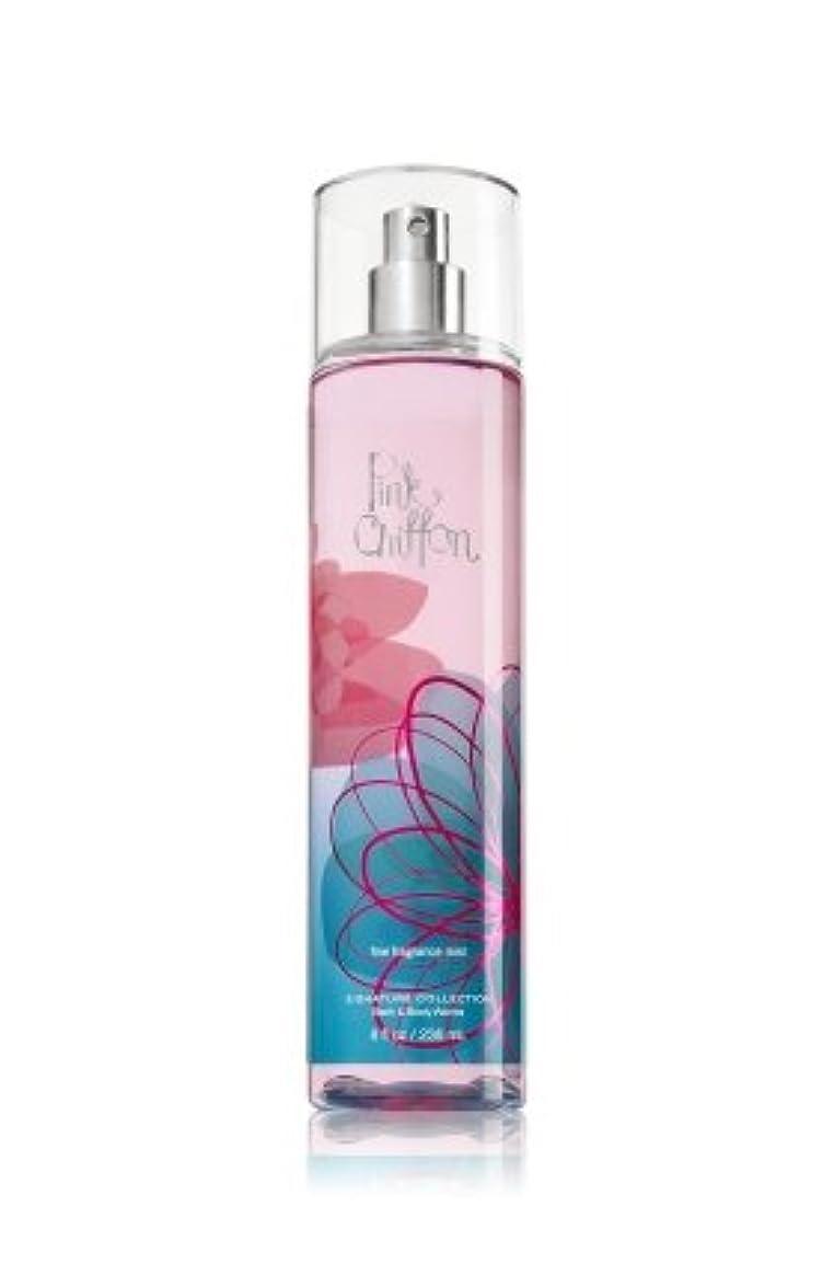 吐く性別分岐するバス&ボディワークス ピンクシフォン ファイン フレグランスミスト Pink Chiffon Fine Fragrance Mist [並行輸入品]