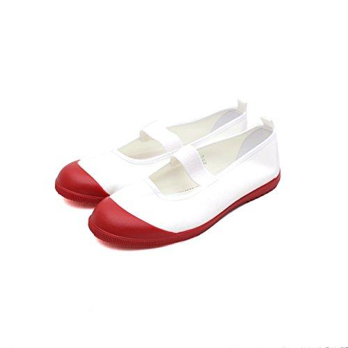 上履き 上靴 ムーンスター スクールメドレー 子供 男の子 女の子 大人 幼稚園 学校 日本製 (20.0cm, レッド)