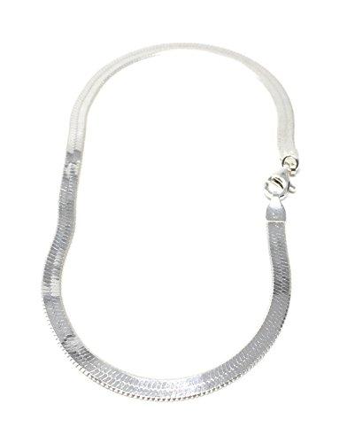 [해외]925 실버 뱀 체인 발찌 (925 Silver Snake Chain Anklet)/925 Silver Snake Chain Anklet (925 Silver Snake Chain Anklet)