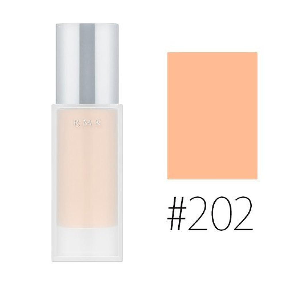 後方すずめ可塑性RMK ジェルクリーミィファンデーション【#202】 SPF24/PA++ 30g