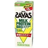 明治 SAVAS ザバス MILK PROTEIN 脂肪0 バナナ風味 200ml×24本